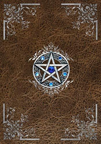 Il Libro Delle Ombre: Quaderno con Pentagramma Celtico   Diario Punteggiato con 150 Pagine per Arte, Disegno, Schizzi, Viaggi o Scrittura   Libro Degli Incantesimi, Stregoneria, Magia, Taccuino
