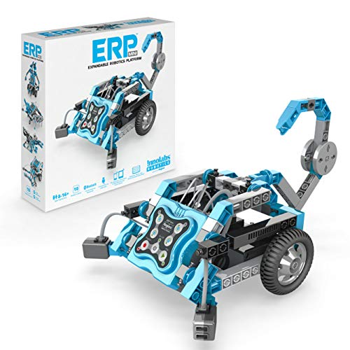 Engino - ERP Mini Expandable Robotics Platform | User-Friendly Coding Starter Kit | STEM Learning Activities (10 Models Options) | Perfect for Home Learning