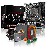dercomputerladen PC Aufrüstkit AMD 7-2700 8x3.2 GHz - 16GB DDR4, ohne onBoard Grafik, eigenständige Grafikkarte notwendig, Mainboard Bundle, A320 Kit, für Spiele und Office geeignet