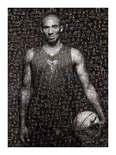 Puzzle-a Baloncesto Aficionado Colección Rompecabezas - cuarto aniversario de Retiro MVP de la NBA de baloncesto Kobe Bryant Leyenda - regalo adecuado for adolescentes y adultos (300/500/1000 piezas)