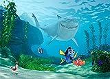 1art1 Findet Nemo - Nemo, Dorie Und Bruce Fototapete