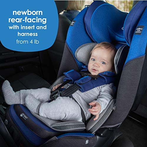 Image of Diono Radian 3QX Latch, All-in-One Convertible Car Seat, Red Cherry