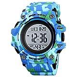 xiaoxioaguo, orologio sportivo da uomo di lusso, cronometro, conto alla rovescia, orologio digitale da 50 bar, impermeabile, orologio militare da uomo