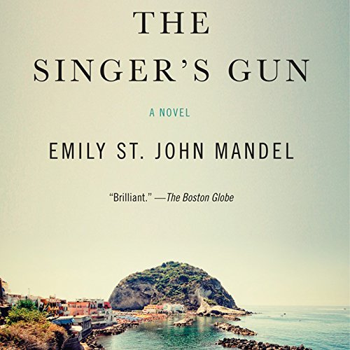 The Singer's Gun audiobook cover art