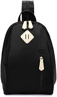 ECOSUSI Women Daypack Outdoor Sling Chest Bag Small Nylon Backpacks for College Girls Fashion Travel Bag