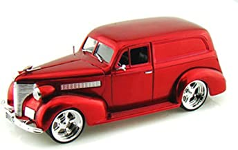 Jada 1939 Chevy Sedan Delivery, Red Toys Bigtime Kustoms 96366 - 1/24 Scale Diecast Model Toy Car, but NO Box