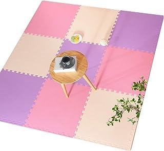 MAHFEI Foam Interlocking Floor Mats, Puzzle Mat Fitness Mat Baby Crawling Collision Protection Bedroom Waterproof Easy To ...