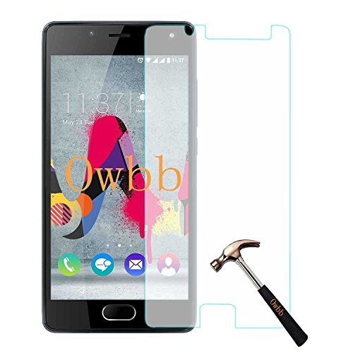 1001 Coques - Protector de pantalla de cristal templado para Wiko U...