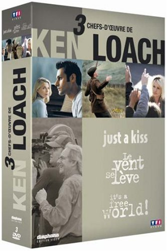 Ken Loach-Coffret-Just A Kiss + Le Vent Se lève + It's A Free World