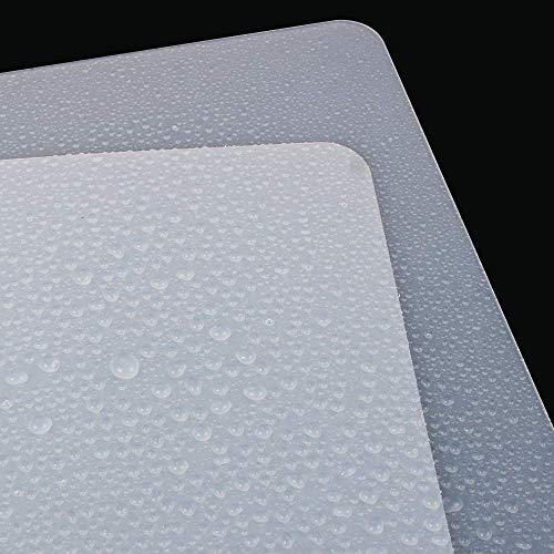 Webake Tapete de Silicona para Hornear y Amasar 60 x 40 cm para colchoneta antideslizante resistente al calor protector de encimera,estera de arte y manualidades 60/×40cm transparente