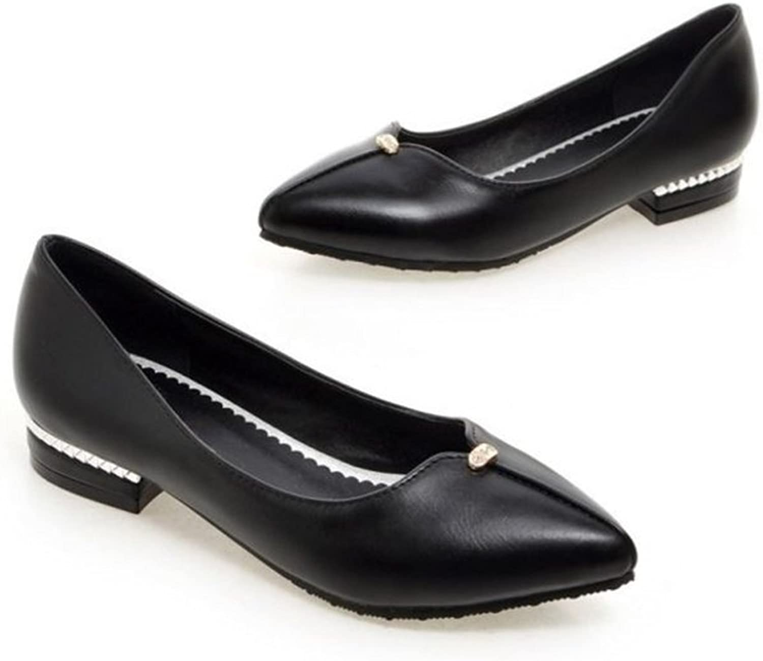 pink town Pointy Toe Slip On Flats Patent Hidden Low Heel Office Daily Walking shoes for Women