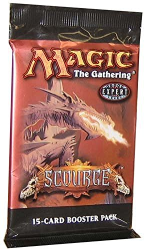 1 (One) Pack of Magic the Gathering MTG Scourge Booster Pack (OUT OF PRINT)