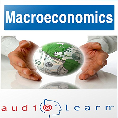 Macroeconomics AudioLearn Follow Along Manual audiobook cover art