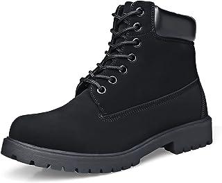 Men's Soft Toe Work Boots Construction Oil Full Grain...