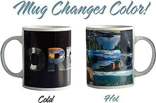 State of Oregon Color Changing Coffee Mug
