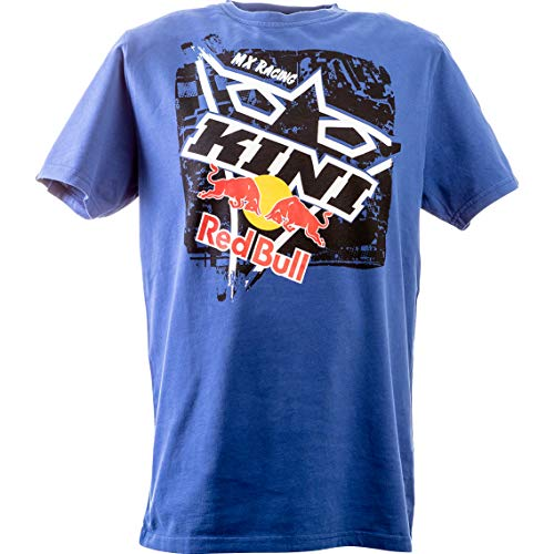 Kini Red Bull T-Shirt T-Shirt Square Tee blau XXL, Herren, Casual/Fashion, Ganzjährig, Baumwolle