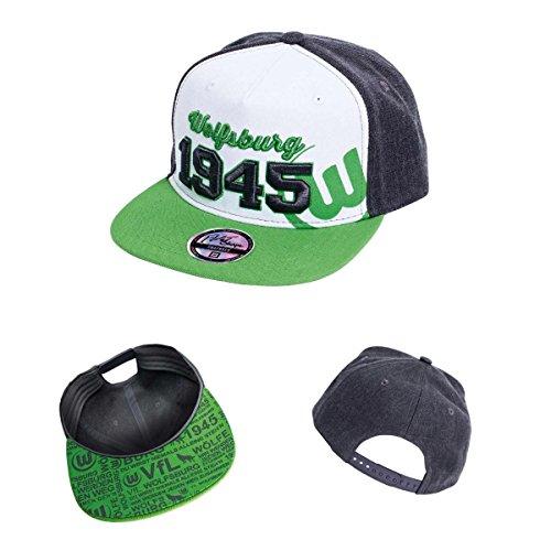 VfL Wolfsburg Basecap/Mütze/Cap/Schildmütze/Kappe/Snapback Cap 1945