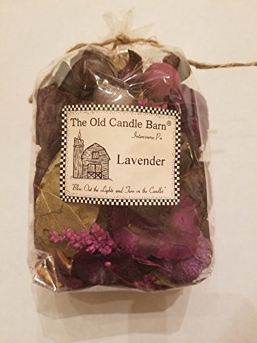 Old Candle Barn Lavender Potpourri - Perfect for Spring and Summer But Can Be Used All Year Long - Decoration or Bowl Filler
