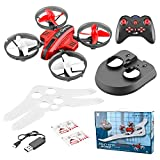 RONSHIN L6082 DIY All in One Air Genius Drone 3-Mode with Fixed Wing Glider Attitude Hold RC Quadcopter RTF red Single Battery