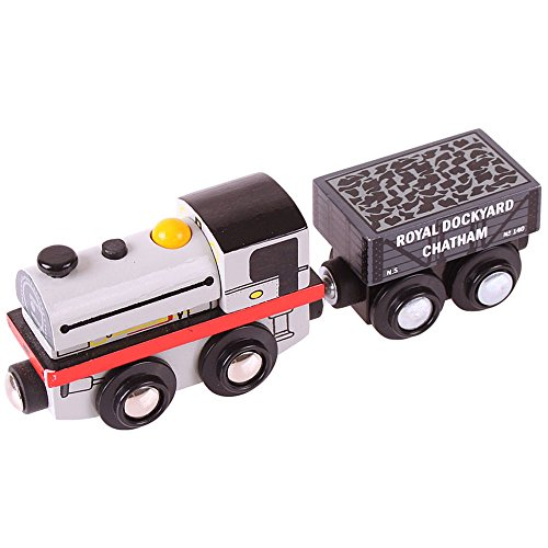 Bigjigs Rail Collection Patrimoine Locomotive Peckett