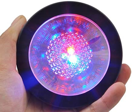 TechIntheBox LED Coaster Black with Color Changing LED Lights