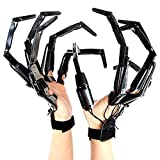 ☸【BEST HALLOWEEN PROPS】 Articulated fingers are so fun, lifelike, and creepy that will surprise your family and friends. 3D Printing articulated fingers are the best equipment for cosplay events, role-playing, festivals, haunted houses, and theaters....