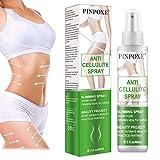 Anticellulite Spray, Snellente Spray, Rassodante Spray, Smagliature Spray - per le donne Slim, anti-cellulite brucia i grassi, modellamento ed eliminazione delle smagliature, 60ml