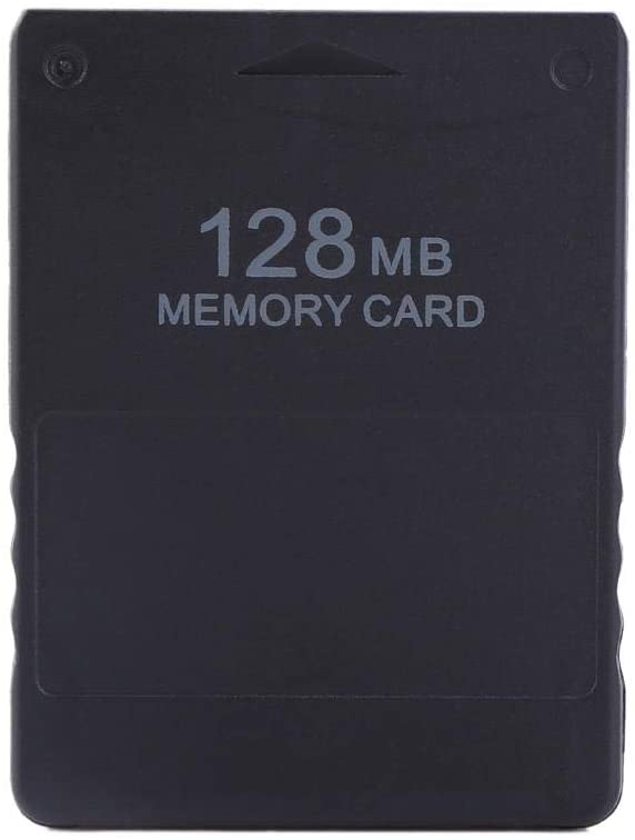 8M-256M Memory Card for Sony Playstation 2 PS2 Games Accessories (128M)