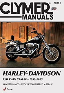 Harley Davidson FXD Twin Cam 88 1999-2005 (CLYMER MOTORCYCLE REPAIR)