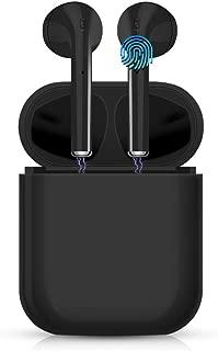 【令和最新版 Bluetoothイヤホン】ワイヤレスイヤホン タッチ式 Hi-Fi 高音質 ステレオサウンド bluetooth 5.0+EDR搭載 AAC対応 完全ワイヤレス イヤホン 自動ペアリング 両耳 CVC6.0ノイズキャンセリング IPX6防水 ブルートゥース イヤホン 落下防止 マイク内蔵 iPhone/iPad/Android適用 … …