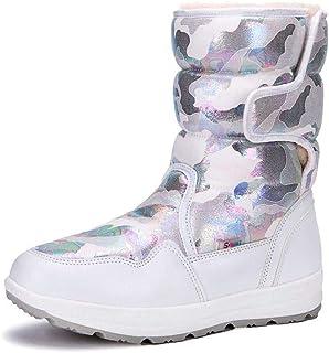 Wensheng Parent-Child Girl's Boy's Waterproof Outdoor Cold Weather Snow Boots in 8 Colors(Little Kid/Big Kid/Adult)