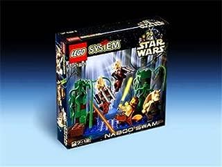 LEGO Star Wars: Naboo Swamp with Qui Gon Jinn, Jar Jar Binks & Battle Droid Mini Figures (7121)