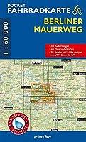 Pocket-Fahrradkarte Berliner Mauerweg 1:60 000: (wasser- und reissfest)