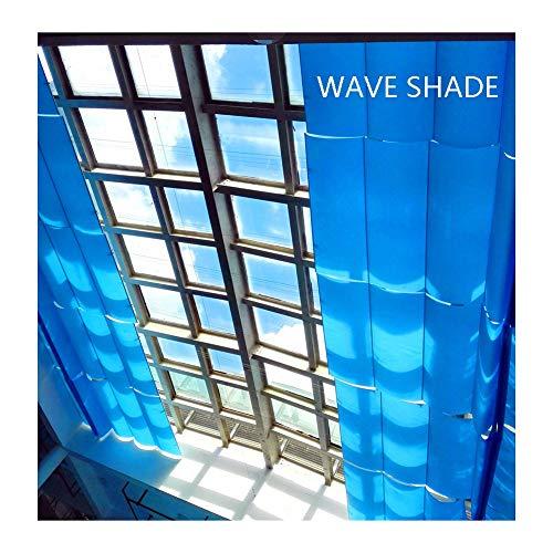 GDMING 2020 Actualizado Retráctil Vela De Sombra Techo Ola Pabellón Toldo 410 gsm Más Grueso Al Aire Libre Sombra 95% De Protección UV para Interior Cubierta De Pérgola De Repuesto, 30 Tamaños