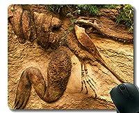 ゲーミングマウスパッドカスタム、Dragon Fossil Officeマウスパッド