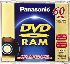 Best panasonic mini dvd ram discs Reviews