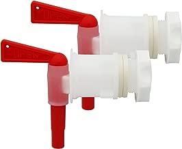 2 PACK Plastic Bottling Bucket Spigot tap faucet for Homebrew Wine Making Beer