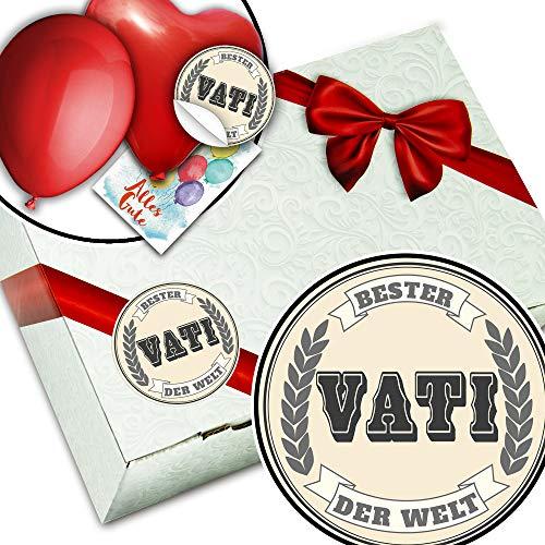 Bester Vati der Welt - Geschenkbox DIY - Geschenke zum Geburtstag