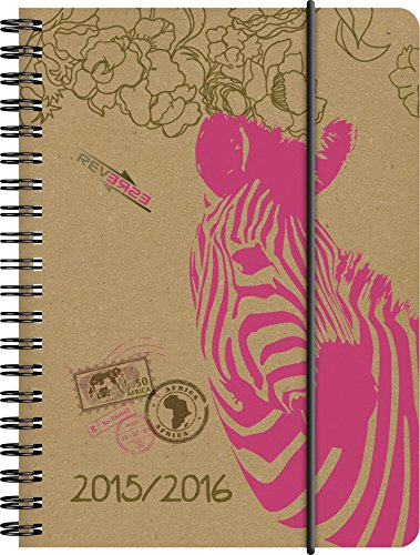 BRUNNEN Taschenkalender Schülerkalender , Kalendarium 2015/16, Zebra PP, 1 Seite = 1 Tag, 120 x 160 mm, (107297516)