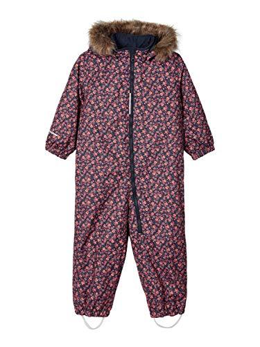 NAME IT Mädchen NMFSNOW08 Suit Mini Flower FO NOOS Schneekleidung, Ombre Blue, 92