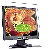VacFun 3 Piezas Claro Protector de Pantalla, compatible con Acer AL1914 19' Display Monitor, Screen Protector Película Protectora(Not Cristal Templado) NEW Version