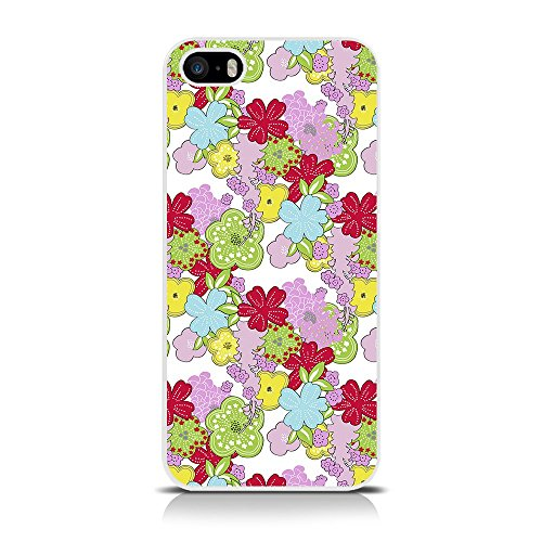 IPhone di Apple 5 'floreale' Lucida Immagine Back Cover di Call Candy - Blooming stupefacente (122-095-039)