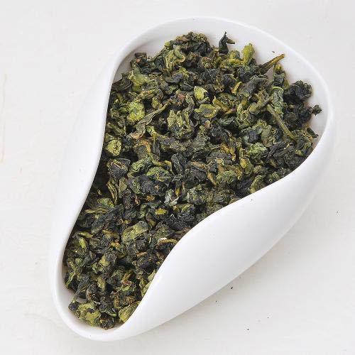 JQ Tie Guan Yin Té Oolong de Anxi Fujian, Tieguanyin chino Té verde Oolong Hojas sueltas, Hojas enteras naturales Antioxidantes ricos Preparar té caliente o té helado 1.1 LB / 500g