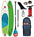 Red Paddle Co SUP Stand Up Paddle Boarding - Voyager 12';6 Aufblasbares Stand Up Paddle Board + Tasche, Pumpe, Paddel & Leine