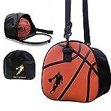 Baffect Portable Pliable Basketball Sac de rangement Sac à bandoulière Soccer Ball...
