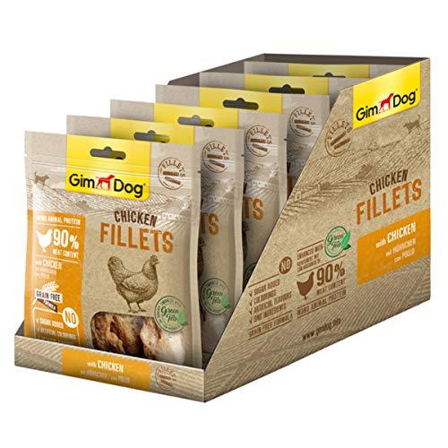 GimDog Chicken Fillets Filetes Curados y Liofilizados Pollo - 6 x 60 gr 🔥