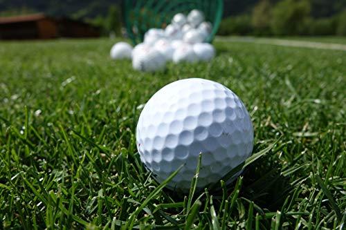 Recreatio - 20 balles de golf - Qualité AA/A - Avec logos, marques, personnalisations et abrasions