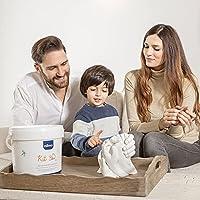 Niimo Calco Mani Coppia con Alginato e Gesso Kit 3D per Stampi di Impronte Bambino Adulti e Coppia Kit Completo Esecuzione Semplice Istruzioni in Italiano Made in Italy #5
