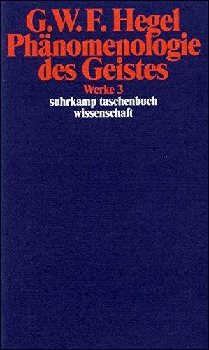 Phaenomenologie des Geistes