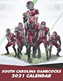 South Carolina Gamecocks 2021 Calendar: American Football 2021 Calendar, Size 8.5x 11 inches